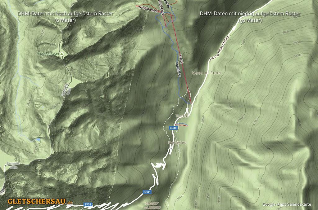 vermessen mit google maps